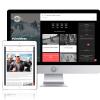 Diseño Blog Deportivo Gourmet Rider-