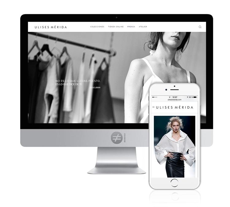 Diseño Web Moda Diseñador Ulises Mérida